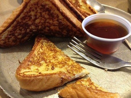French Toast Breakfast Syrup Food Bread Fo