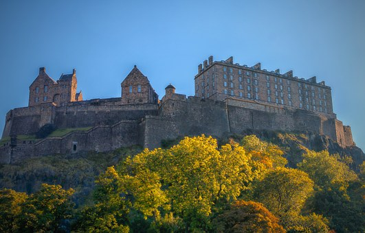Edinburgh, Lâu Đài, Edinburgh Castle
