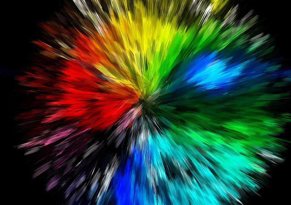 Free Illustration Big Bang, Explosion, Color - Free Image -6501