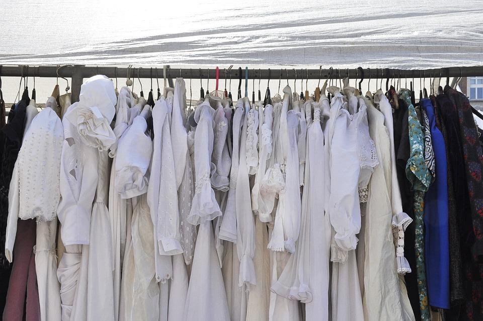 Kleider, Stoff, Kleid, Hochzeit, Weiß, Kleidung