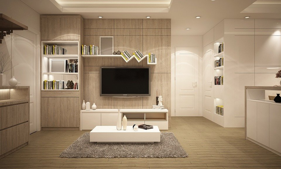 Furniture, Living Room, Modern - Free Illustration: Furniture, Living Room, Modern - Free Image On