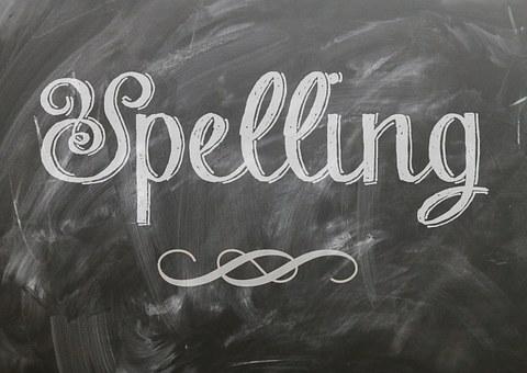 Spelling Language Blackboard Chalk Chalkbo