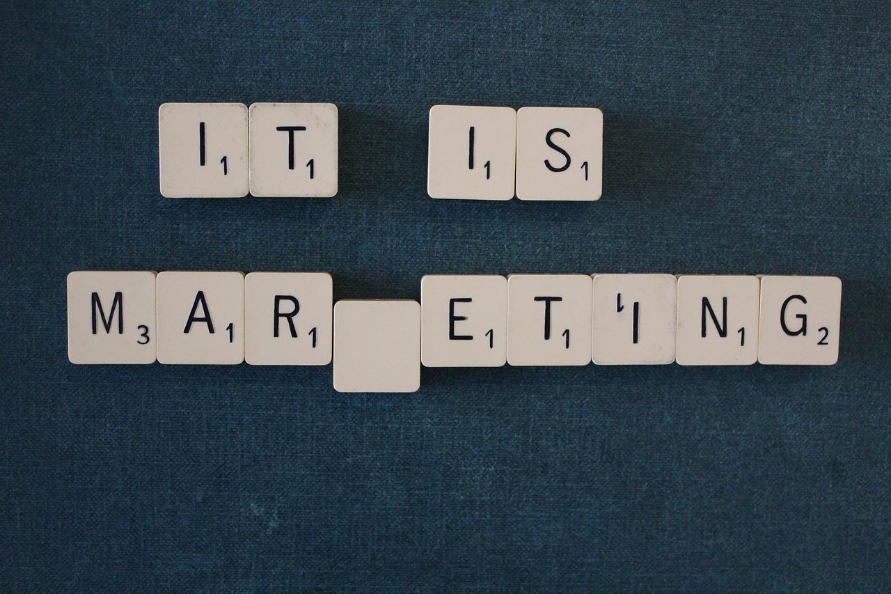Marketing digital illustration