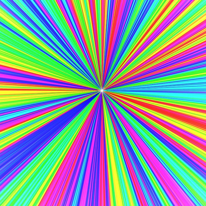 Rainbow Background Colourful · Free image on Pixabay