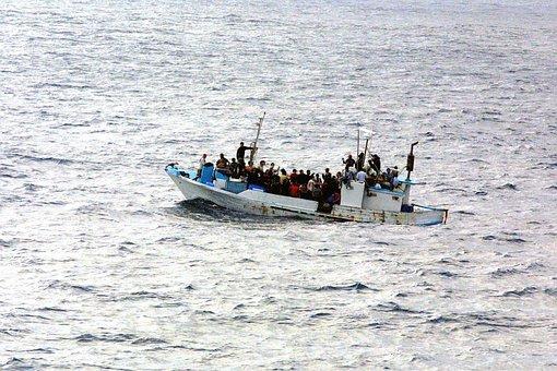 Boot, Water, Vluchteling, Ontsnappen