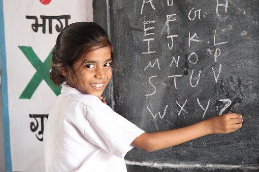 女の子, 学生, 女子学生, 教育, 学校, 勉強, グレー校, グレーの教育