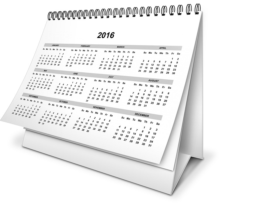 calendar year month free image on pixabay