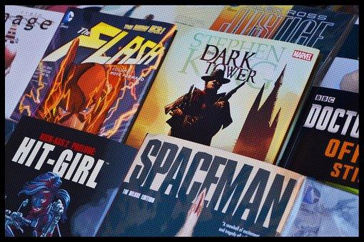 Histórias Em Quadrinhos, Livros