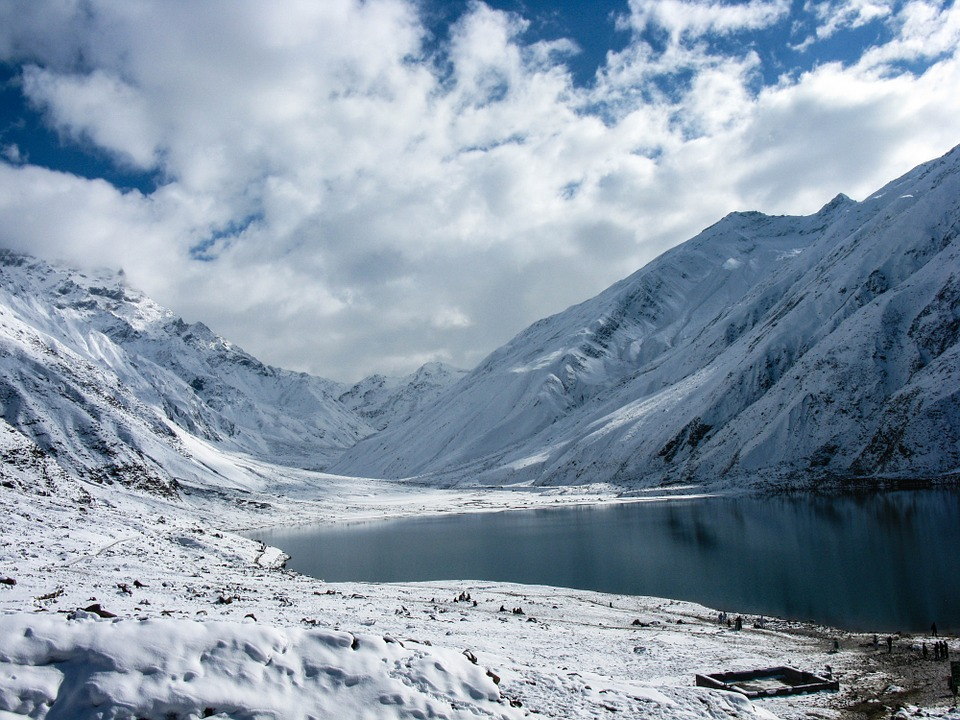 Lake, Snow, Nature, Landscape, flights to pakistan, hotels in pakistan