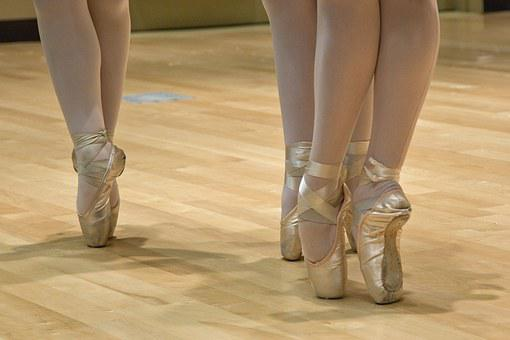 Ballet Shoes, Ballerina, Dance, Balance