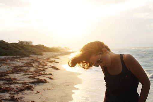 Mar, Atardecer, Playa, Tranquilidad
