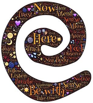 Spiral, Sacred, Symbol, Present