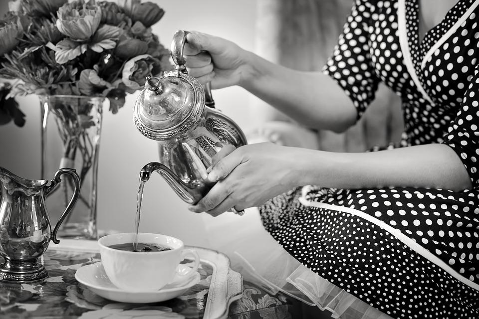Чаепитие, Чай, Литься, Лить Чай, Чашка, Чайник, Пить