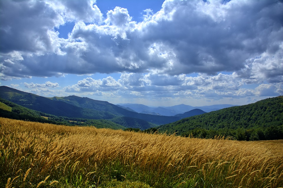 Free photo: Bieszczady, Sky, Landscape, Colors