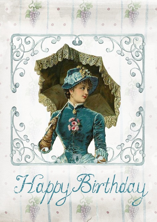 Greeting Card Birthday Vintage 183 Free Image On Pixabay
