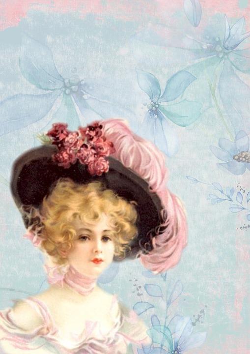 Super Illustration gratuite: Carte De Voeux, Vintage - Image gratuite  ZZ42