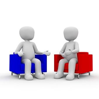 Besprechung, Meeting, Gespräch