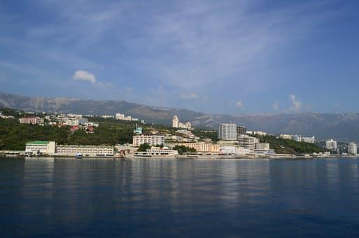 Yalta, Crimea, Landscape, Sea
