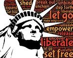 liberty, statue, liberation