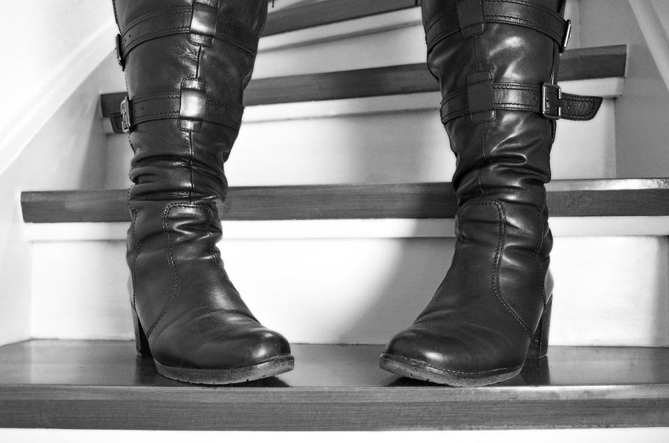 Trap Laarzen Stand Gratis foto op Pixabay