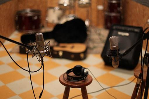 Microphone Music Studio Stage