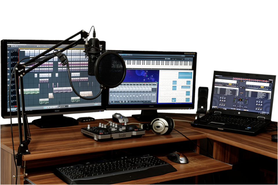 Free Photo Studio Music Mixer Audio Free Image On