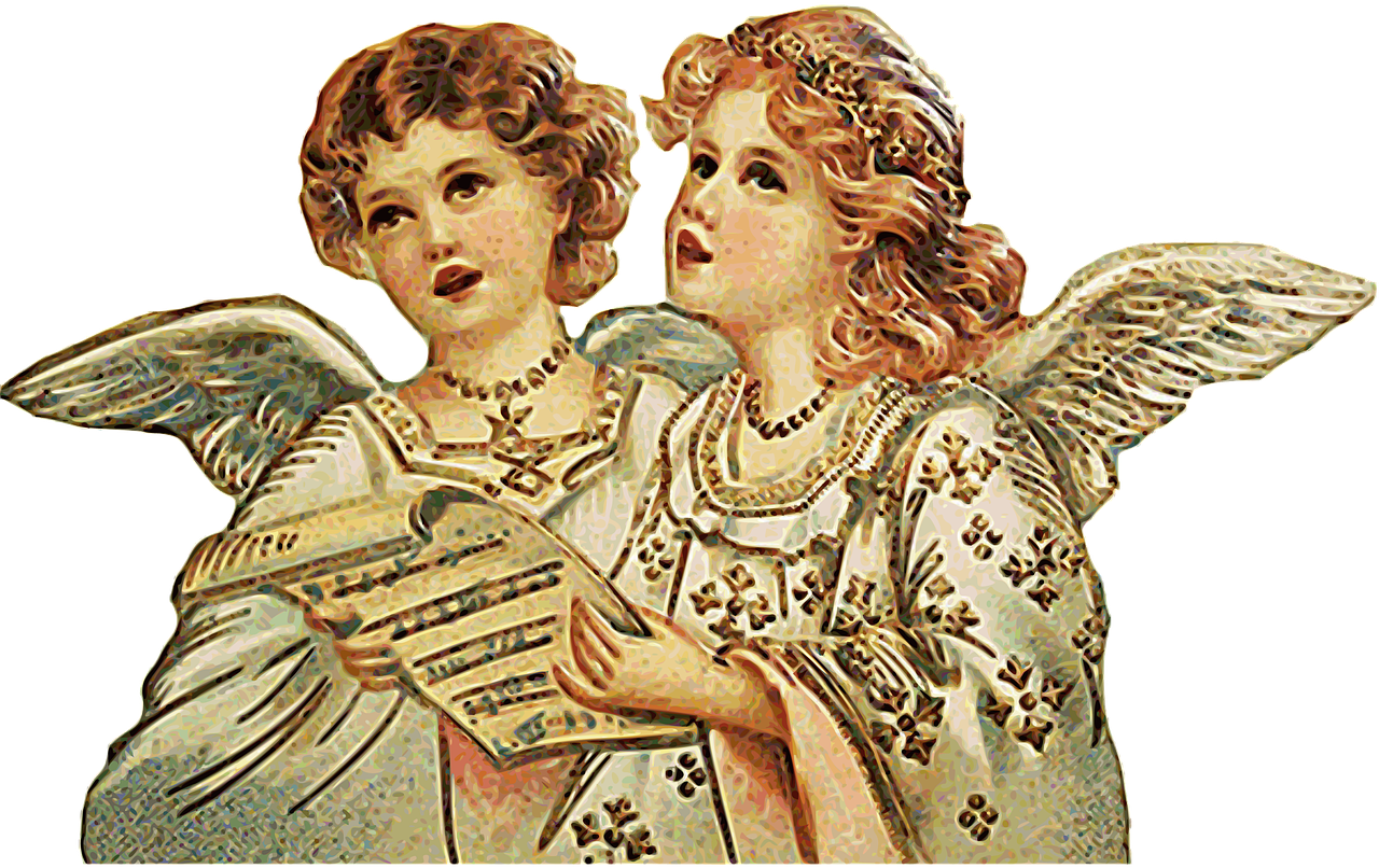 Free pictures of angels singing