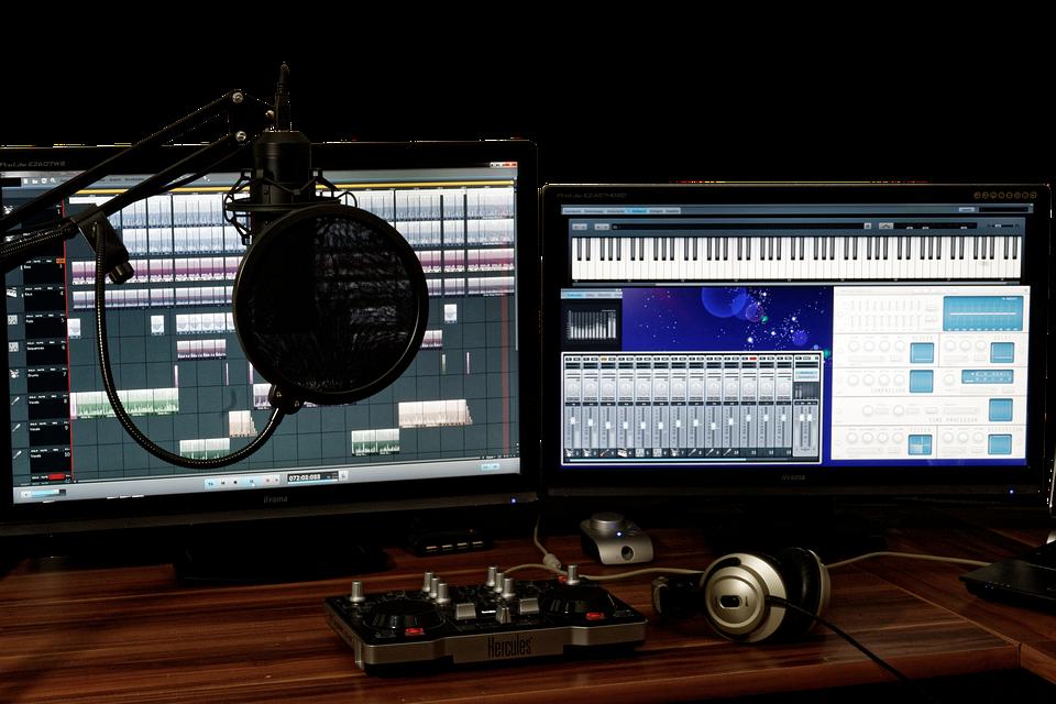 Free Photo Studio Music Mixer Audio Free Image On