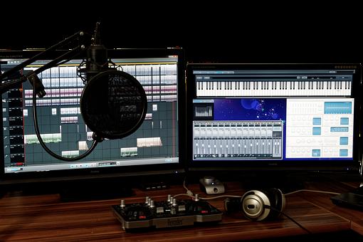 Studio, Music, Mixer, Audio, Controller