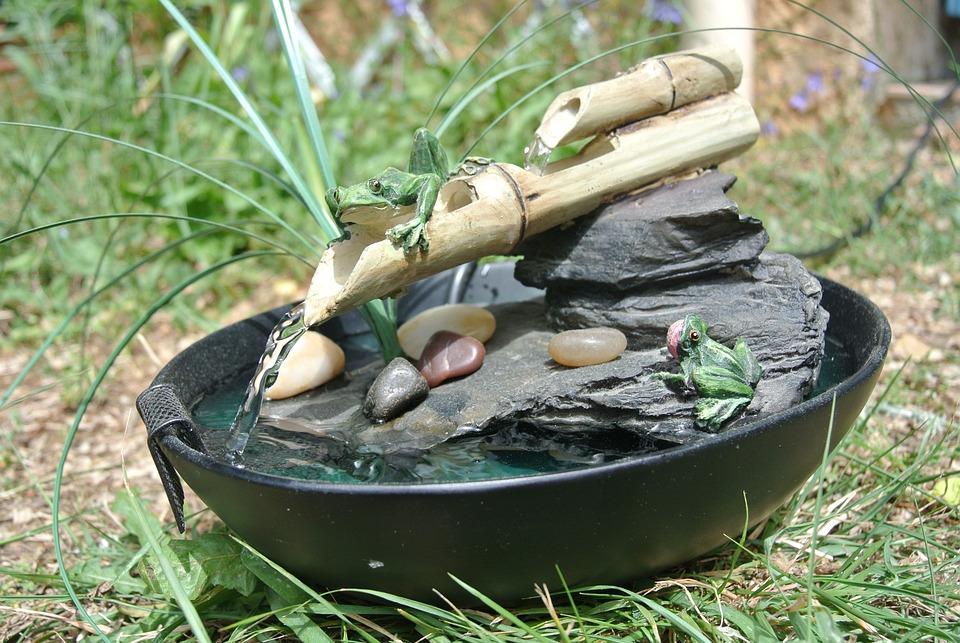 fontaine eau cailloux zen galets calme - Fontaine A Eau Zen