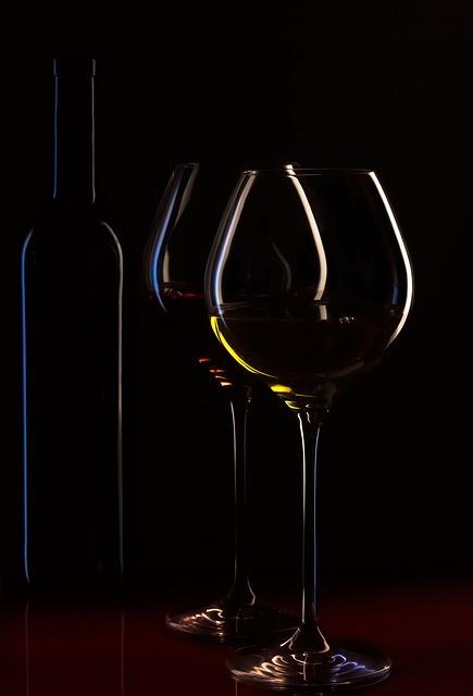 Wine Bottle Glasses 183 Free Photo On Pixabay