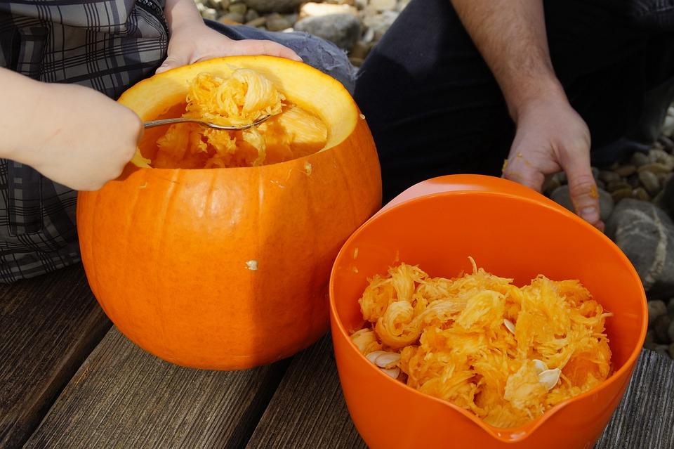 Pumpkin, Halloween, Fall, Orange, Vegetables