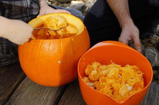 Pumpkin, Halloween, Fall, Orange