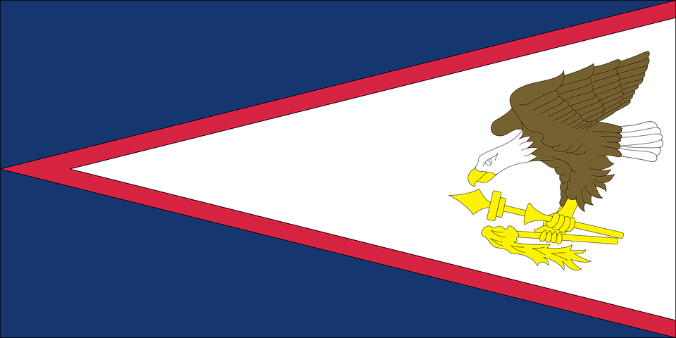 Samoa Islands, Vector, Country, Flag