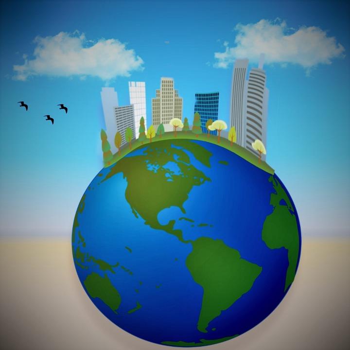 Globus Miasta Ptaków Darmowy Obraz Na Pixabay
