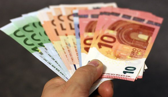 Money, Bank Note, Euro, Hand, Banknote