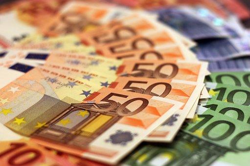 Argent, Billet De Banque, Euro