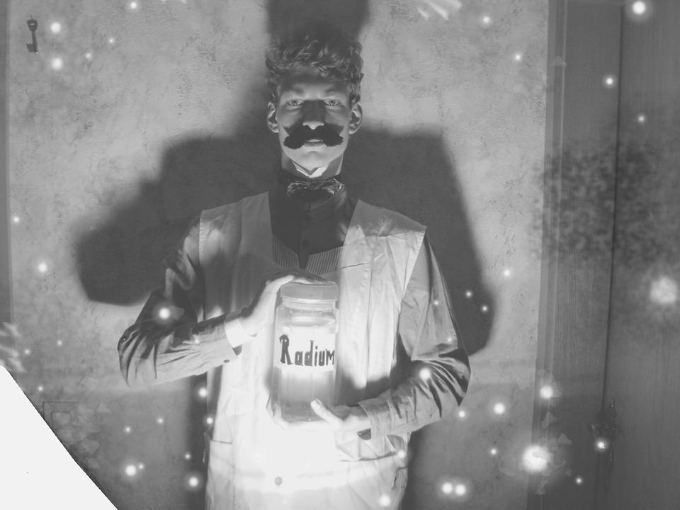 Radium, Old Fashioned, Under Light, Moustache, 19