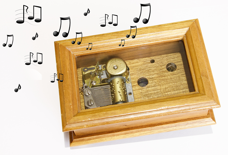 Technology, Mechanics, Wood, Casket, Musical Instrument