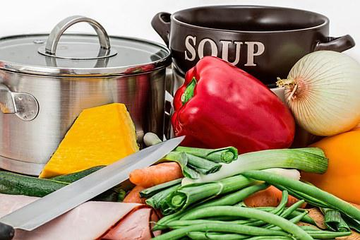 Soup, Vegetables, Pot, Cooking, Food
