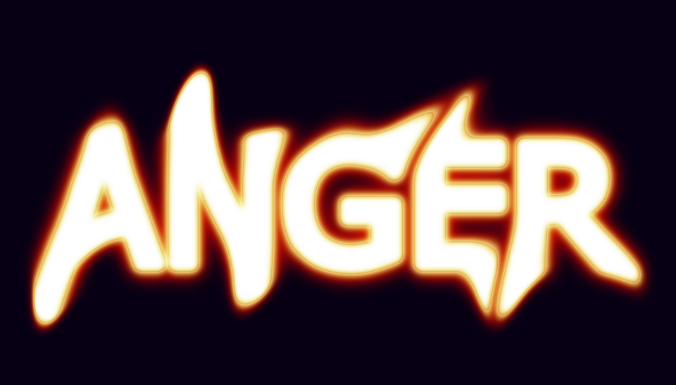 Free illustration: Anger, Angry, Word-Art, Fire, Blur - Free Image ...