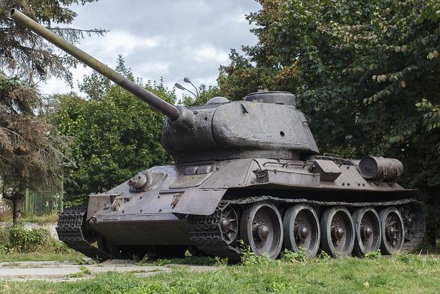 Free Photo Tank Old T 34 Victory Soviet Free Image