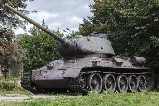 Tank, Old, T-34, Victory, Soviet, Tank