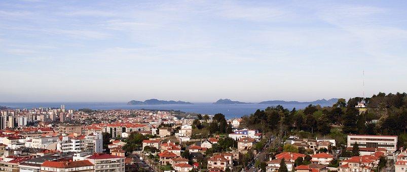Qué ver qué hacer en Pontevedra, Vista panorámica de Vigo Pontevedra