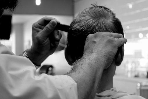 Haircut Barber Salon Barber Shop Hair Scis