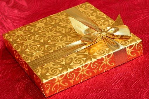 Geschenk, Box, Vorhanden, Hintergrund