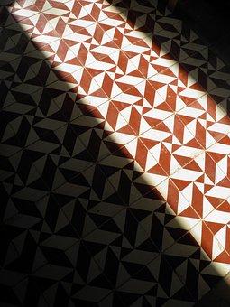 Floor, Tiles, Tesselated, Light, Design