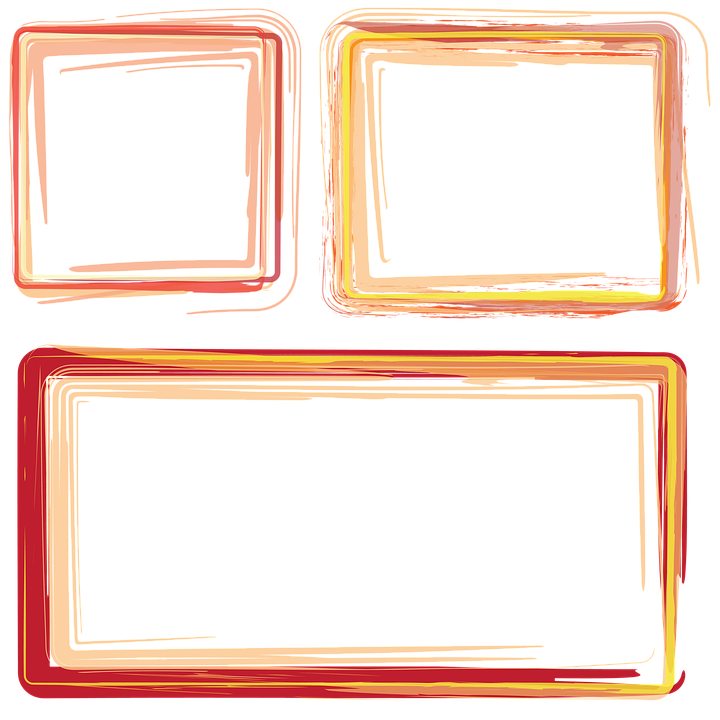 Free illustration: Frames, Borders, Orange Frame - Free Image on Pixabay - 1010422