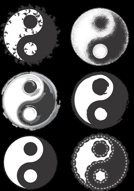Gratis Vektorgrafikk Ying Yang Symbol Jing Jang