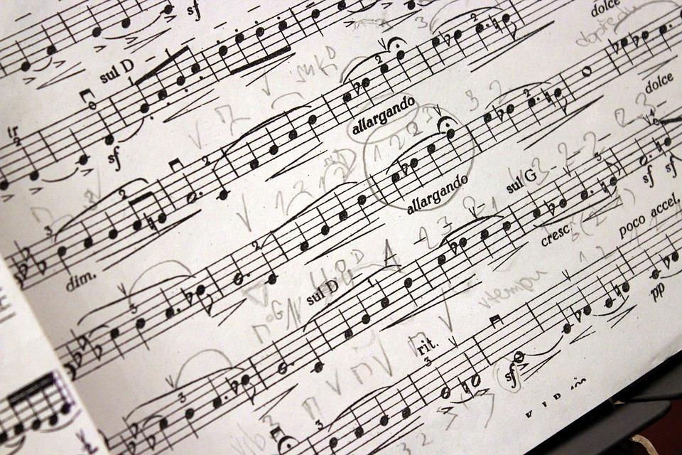 Music Music Score Composition 1010703